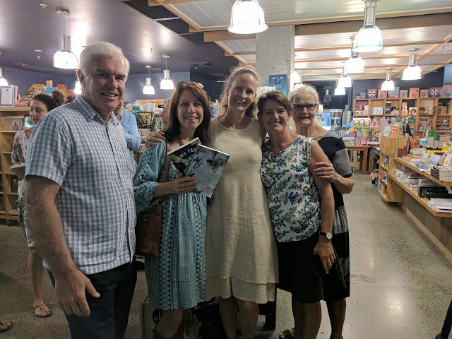 Book launch at Book Face Port Macquarie